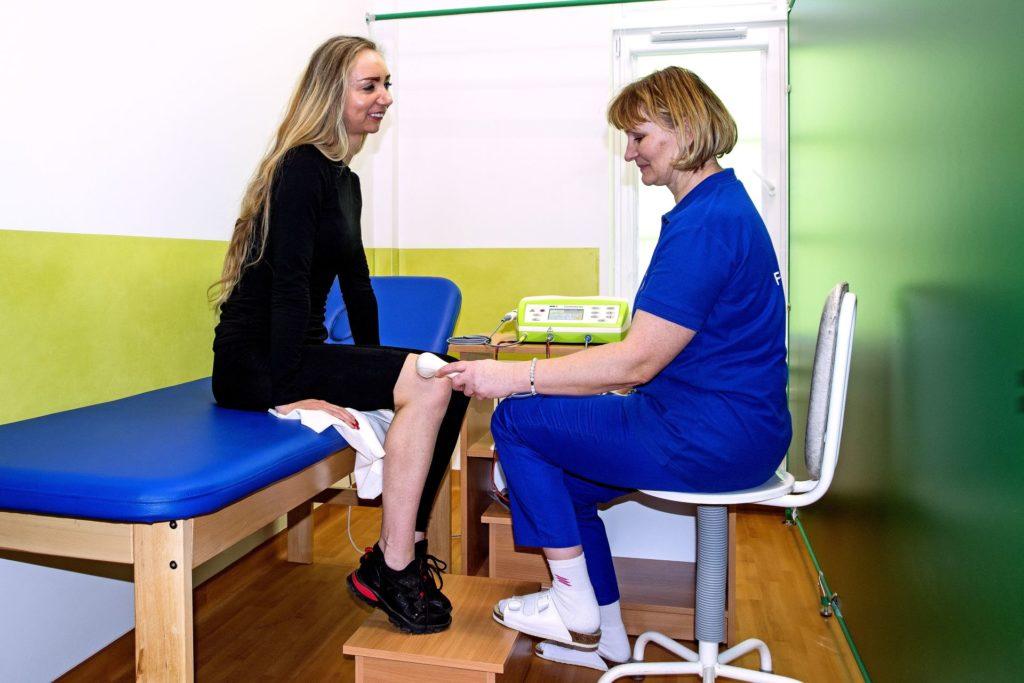terapia ultradźwiękami w sanatorium